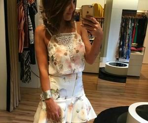 branco, renda, and dress image
