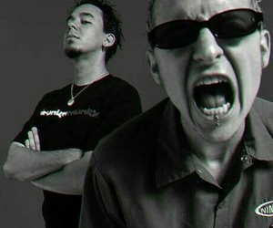 linkin park, mike shinoda, and chester bennington image