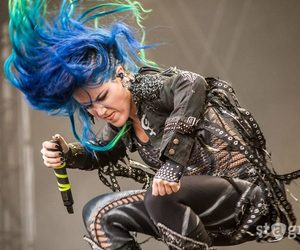 blue hair, arch enemy, and alissa white gluz image