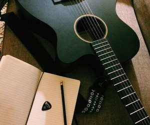 bye, guitar, and music image