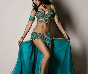 belly dance and blue image
