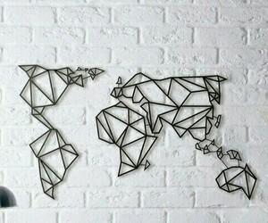 world, black, and white image