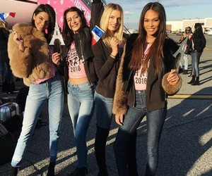 girls, friends, and victoria secrets image