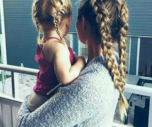 hair, braid, and goals image