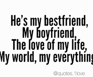 love and boyfriend image