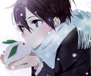 anime, anime boy, and sao image