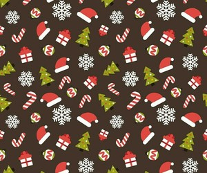 christmas, background, and pattern image