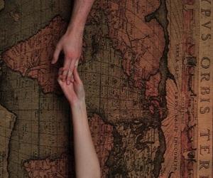 love, مسافة, and حُبْ image