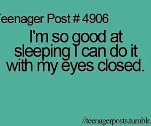 funny, sleep, and sleeping image