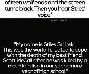 teen wolf, stiles, and teenwolf image