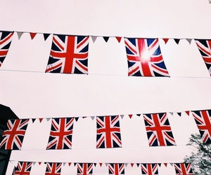 british flag, flag, and london image