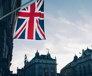 british flag, london, and england image