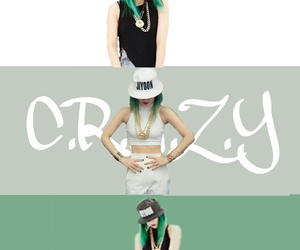 crazy, 4minute, and jiyoon image
