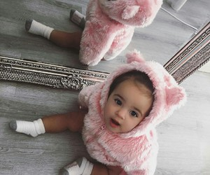 adorable, fur, and baby image
