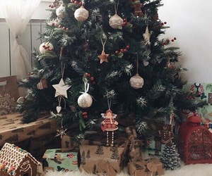 beautiful, presents, and christmas tree image