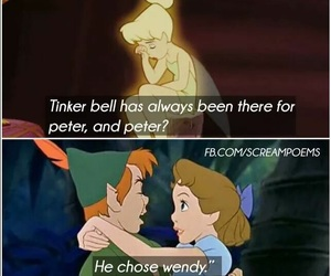 disney, sad, and peter pan image