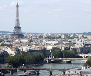 eiffel tower, europe, and france image