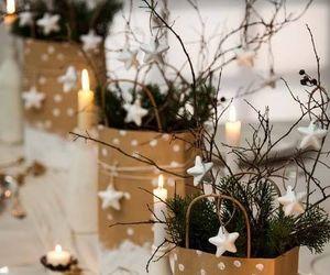 christmas, stars, and decoration image