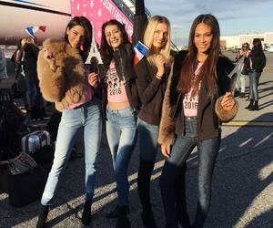 Lily Donaldson, bella hadid, and Victoria's Secret image