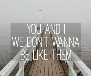 one direction, Lyrics, and you and i image