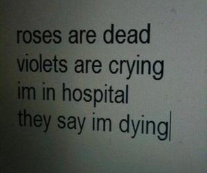 hospital, sad, and grunge image