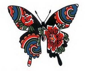 tattoo flash, butterfly tattoo, and ink it up image