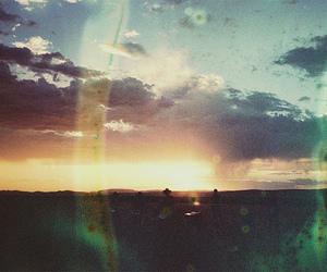 sun, beautiful, and sky image