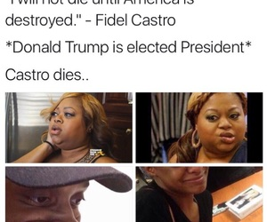 election, fidel castro, and funny image