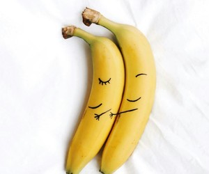 banana, fruit, and forever image