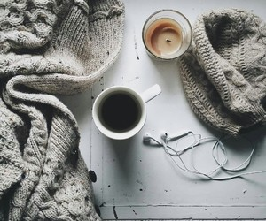 coffee, cold, and music image