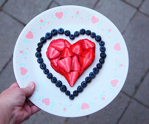 blueberries, strawberries, and fruit image