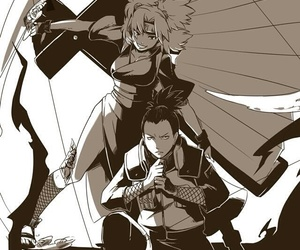 temari, naruto, and shikamaru image