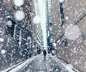 snow and alone image