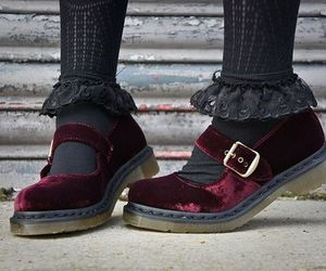 shoes, fashion, and velvet image