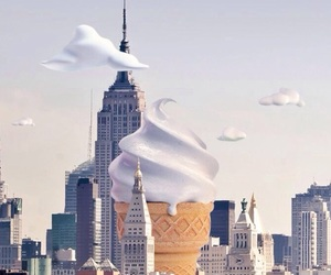 city, ice cream, and wallpaper image