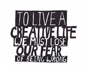 creative, wrong, and fear image