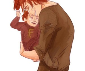 harry potter, weasley, and Fred image