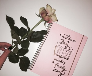 inspiration, notebooks, and quotes image