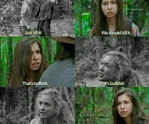 enid, beth, and twd image