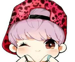 chibi, exo, and luhan image