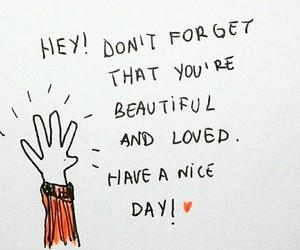 beautiful, kind, and self-love image