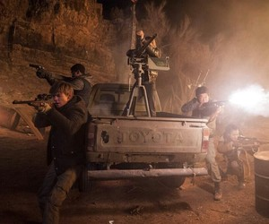 newt, minho, and the maze runner image