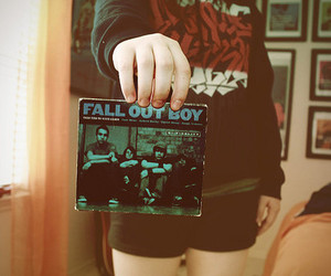 fall out boy, music, and cd image
