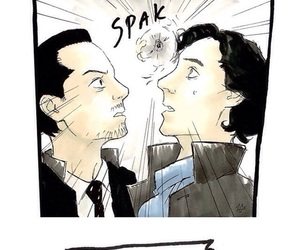 comics, funny, and sheriarty image