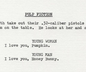 pulp fiction, movie, and quentin tarantino image