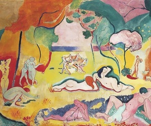 color, fauvism, and matisse image