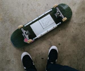 skate, street, and skateboard image
