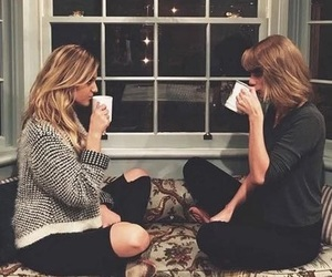 cup, girls, and Taylor Swift image