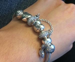 bracelet, pandora, and silver image
