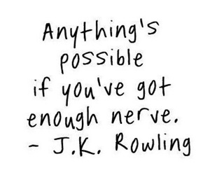 harry potter, motto, and rowling image